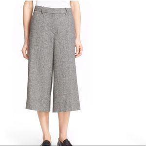 THEORY- Halientra Wide-Leg Cropped Pants